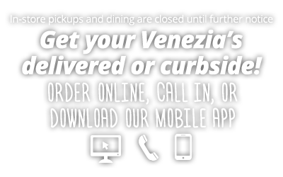 Dine in service is temporarily closed. Order by phone, online, or mobile app for curbside pickup or delivery.